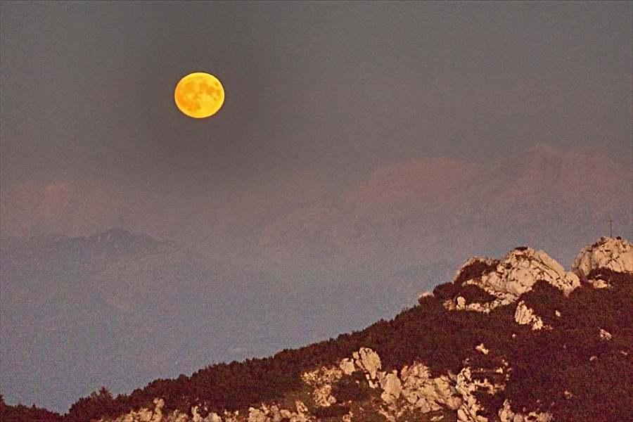 Mondaufgang, Wendelstein