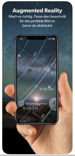 PhotoPills auf dem Smartphone