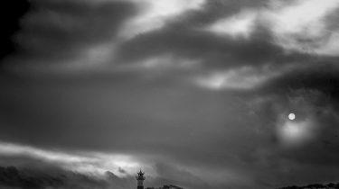 Sylt_Leuchtturm im Mondlicht_David Ringel