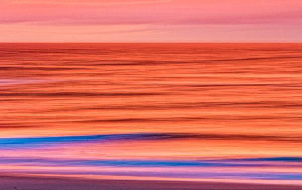 Sylt Farben des Sonnenutergangs