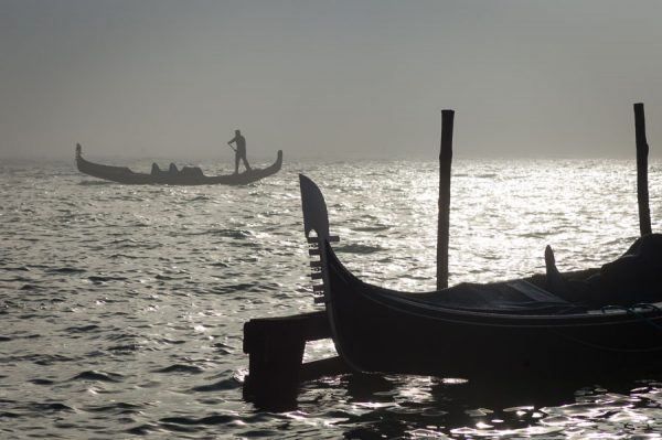 Venedig im strengen Novemberlicht