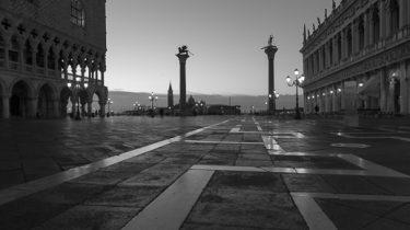 schwarzweiss Venedig