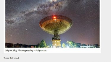 Newsletter Neowise