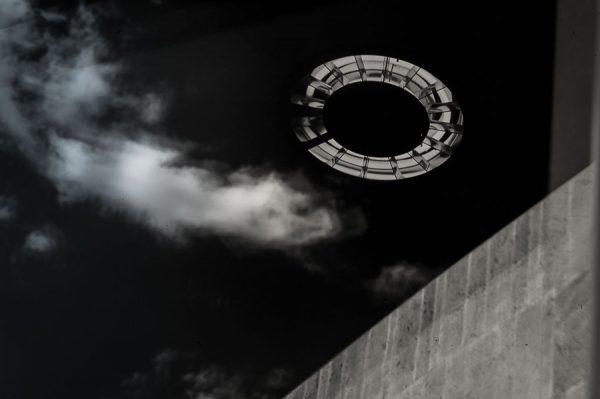 Kreis mit Wolke