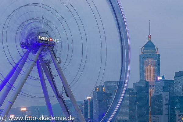 Blaue Stund in Hongkonk