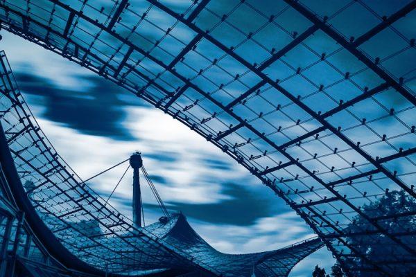 Blaue Stunde _ Olympiapark
